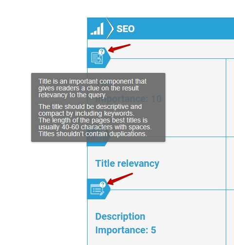 SEO Report Initial Explanations